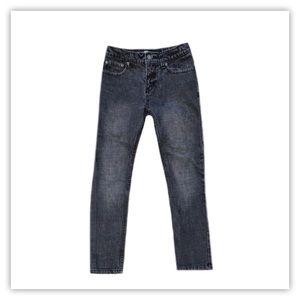 Point Zero Boy's Black Jeans